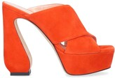 Thumbnail for your product : Si Rossi Crossover Platform Sandals