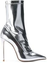 Le Silla Eva mirror effect ankle boot