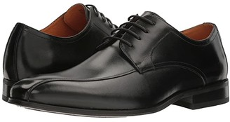Florsheim Corbetta Bike Toe Oxford (Black Smooth) Men's Dress Flat Shoes
