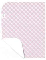 Kushies Baby Deluxe Change Pad, Pink Lattice by