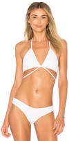 Bettinis Bralette Wrap in Ivory. - size L (also in M,S,XS)
