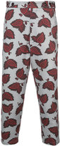 Oamc patterned trousers