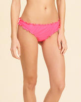 Hollister Super Ruffle Cheeky Bikini Bottom