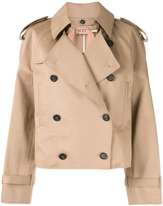 No.21 Collared Double Breasted Coat