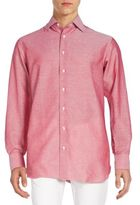 Brioni Regular-Fit Woven Cotton & Linen Sportshirt