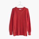 Madewell Wafflestitch Pullover Sweater