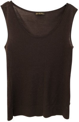 Loro Piana Brown Cashmere Top for Women