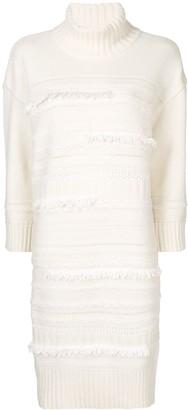 Coohem Tweed-Knit Midi Dress