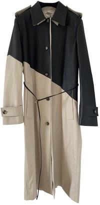 Bottega Veneta Beige Leather Trench Coat for Women