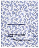 Melange Home Block Paisley Sheet Set