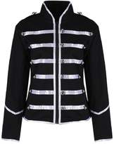 Ro Rox Women's Ladies Steampunk Military Punk Parade Jacket