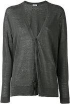 Brunello Cucinelli longsleeve cardigan - women - Linen/Flax/Polyamide - M