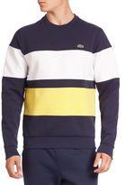 Lacoste Striped Long Sleeve Sweatshirt