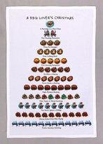 Peking Handicraft Twelve Days Of BBQ Barbeque Lovers Christmas Flour Sack Kitchen Dish Towel - 18