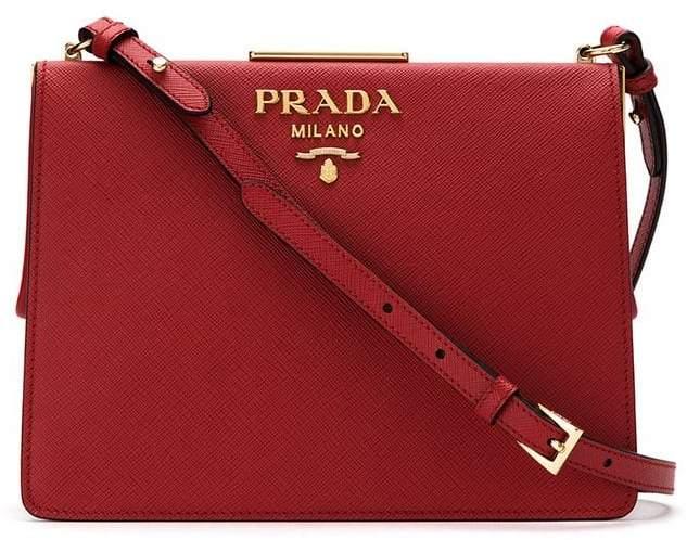 eeb76afb4d5a Prada Red Crossbody Shoulder Bags - ShopStyle