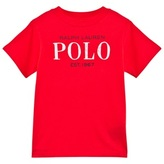 Ralph Lauren Red Polo Branded Tee