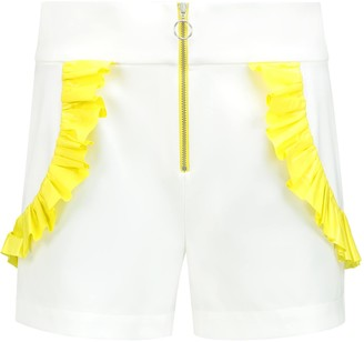The Endless Summer High Waisted Shorts In White