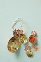 Anthropologie Brass Pineapple Measuring Spoons
