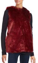 Bagatelle Sleeveless Faux Fur Vest