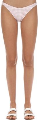 Solid & Striped Eloise Gingham Bikini Bottoms