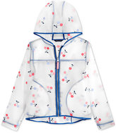 Tommy Hilfiger Cherry-Print Rain Jacket, Big Girls (7-16)