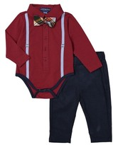 Andy & Evan Infant Boy's Bodysuit, Bow Tie & Pants Set