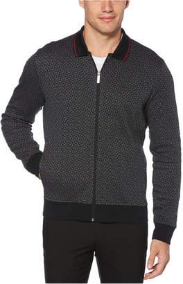 Perry Ellis Men Printed Jacquard Sweater