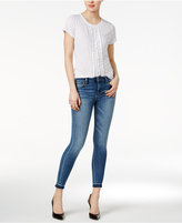 Joe's Jeans Rini Cotton Released-Hem Skinny Jeans