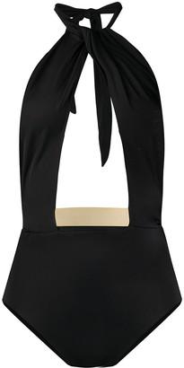 Moeva Cut-Out Detail Tie Back Swimsuit