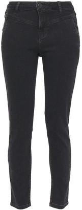 Maje Mid-rise Slim-leg Jeans