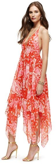 Juicy Couture Catalina Floral Halter Dress