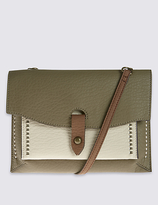 M&S Collection Faux Leather Across Body Bag