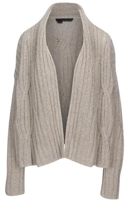 360 Cashmere Serena Grey Cardigan - X Small