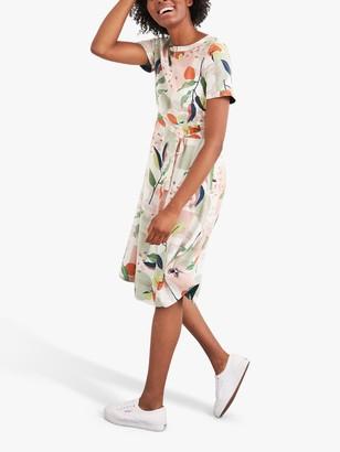 White Stuff Temshoo Reversible Dress, Green/Multi