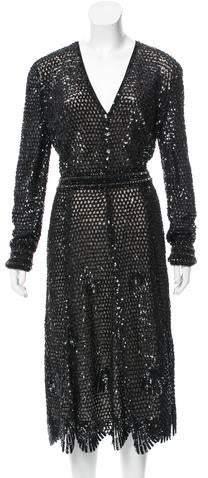 Derek Lam Embellished Evening Dress w/ Tags