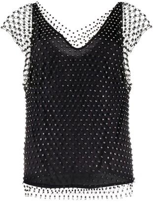 Pinko Esteban mesh blouse