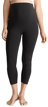 Ingrid & Isabel Cropped Seamless Maternity Leggings
