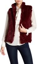 Bagatelle Knitted Faux Fur Vest