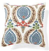 Southern Living Wreath-Embroidered Square Pillow