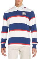 Gant Men's Regular-Fit Striped Rugby Shirt