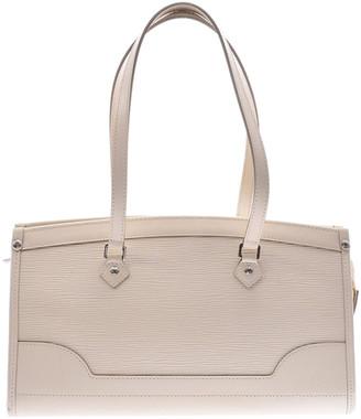 Louis Vuitton Ivory Epi Leather Madeleine PM Bag