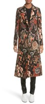 Stella McCartney Women's Floral Tapestry Long Coat