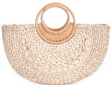 INC International Concepts Inc Straw Fan Tote, Created for Macy's