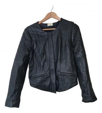 Bel Air Black Leather Jackets