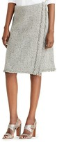 Lauren Ralph Lauren Frayed Tweed Skirt