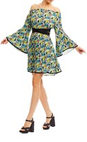 Nicole Miller Rocco Nouveau Trellis Dress