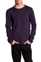 John Varvatos Long Sleeve Crew Neck Sweater