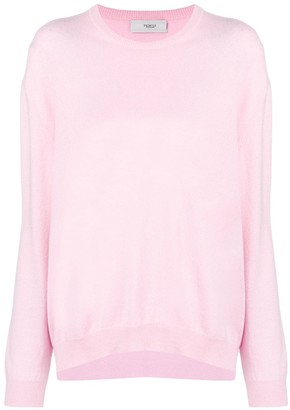 Pringle long sleeve knitted top