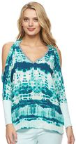 Juicy Couture Women's Embellished Cold-Shoulder Top