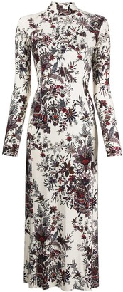 Paco Rabanne Paisley Print Stretch-Jersey Dress